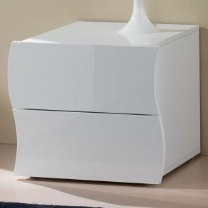 Comodino Sea Gihome® bianco lucido