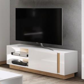 Porta tv 138 soggiorno Noa Gihome ® bianco