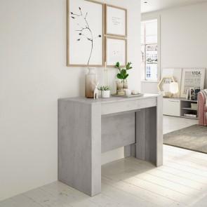 Tavolo consolle allungabile Fox cemento Gihome ®